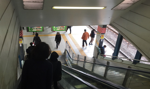 アイドルマスターシンデレラガールズ第02話 聖地巡礼