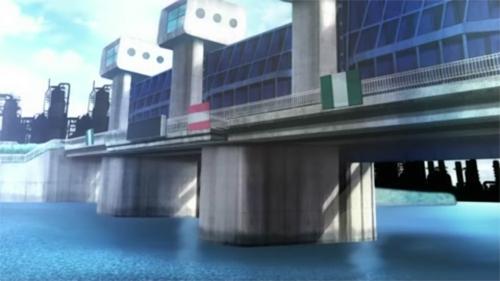 魔法少女まどか☆マギカ 聖地巡礼 赤羽岩淵水門