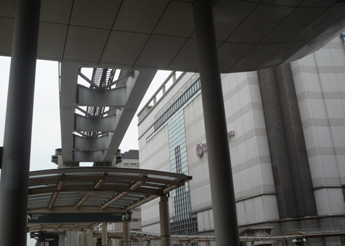 魔法少女まどか☆マギカ 聖地巡礼 多摩モノレール 立川北駅