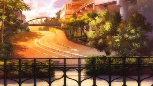 魔法少女まどか☆マギカ 聖地巡礼 多摩モノレール 松が谷駅