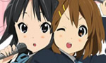 「けいおん!!」桜高購買部にてTBS限定の桜色のれんと湯のみが誕生!