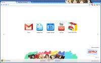 Google Chromeの漫画・アニメ・ゲームのテーマまとめ