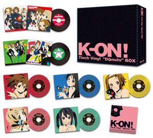 TVアニメ『けいおん!』の関連CDがなんと『アナログ盤』で登場!