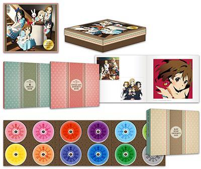 けいおん!の楽曲を集めた『K-ON! MUSIC HISTORY'S BOX』の発売記念トークイベントが開催決定!ジャケット写真も公開!